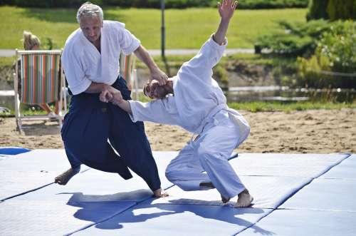 Świnoujście – pokaz mistrza aikido