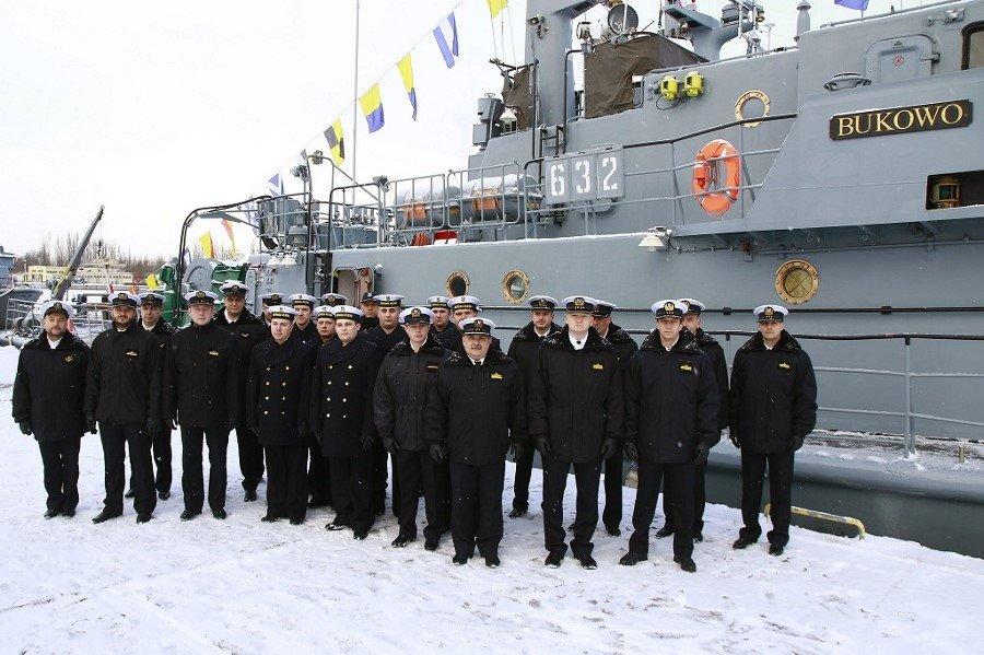 Świnoujście. Nowy dowódca ORP Bukowo (fotogaleria)