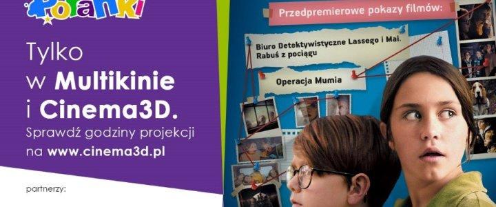 PORANKI: Kino Detektywów – na tropie zagadek w kinach sieci Cinema3D od 17 października!