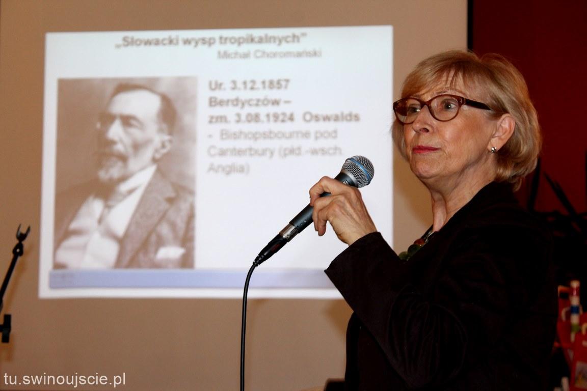 Cecylia Judek gościem w Miejskiej Bibliotece Publicznej