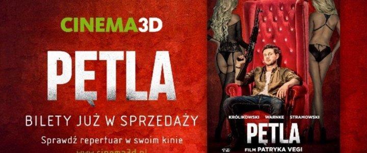 Cinema3D rozpoczęła przedsprzedaż biletów na nowy film Vegi!