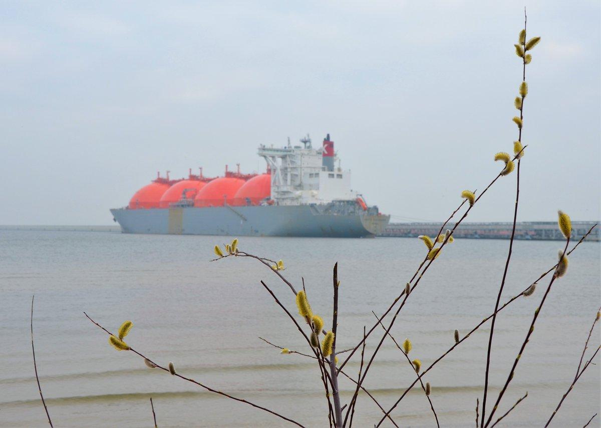 54. dostawa do Terminalu LNG w Świnoujściu