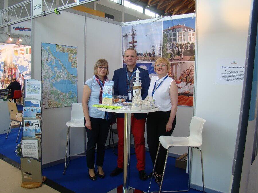 Świnoujście. Firma Hotele i Turystyka uczestniczyła w targach RDA Friedrichshafen