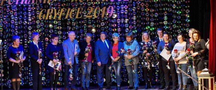 Spotkanie noworoczne w Gryfickim Domu Kultury - fotorelacja