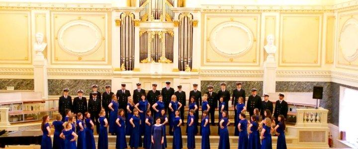 Chór Akademii Morskiej - festiwal w Petersburgu