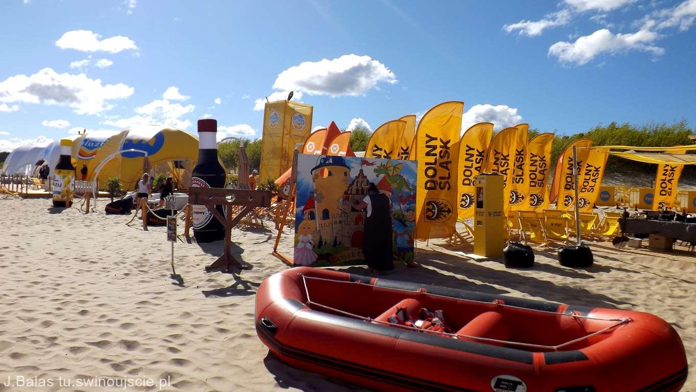 Świnoujście. Projekt Plaża 2018r. Miasteczko TVN – niedziela (fotogaleria)