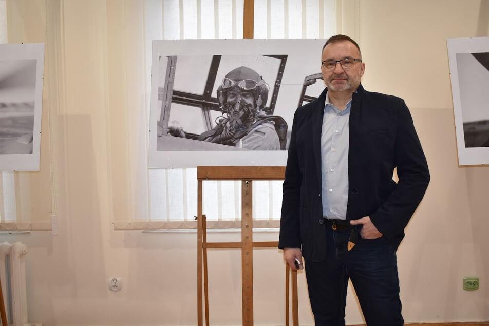 Świnoujście. Mieczysław Tyburski – wernisaż wystawy fotografii lotniczej (fotorelacja)
