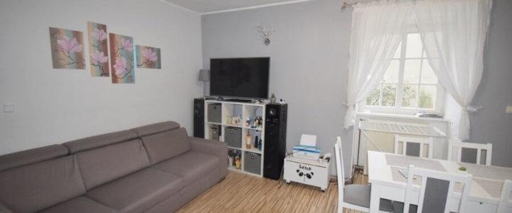 Zachodniopomorskie. Mieszkanie przy Nowym Zamku w Płotach.