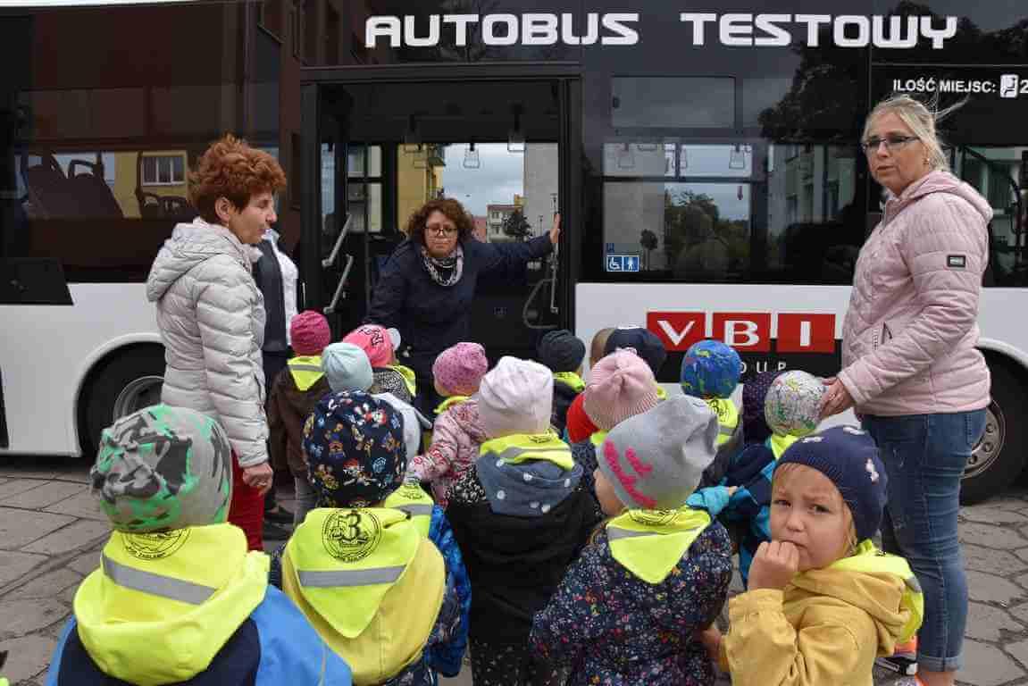 Świnoujście. Europejski Tydzień Zrównoważonego Transportu. Dzieci rządziły w Citybusie