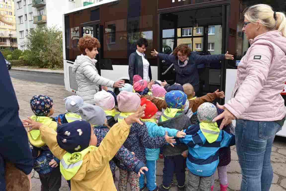 Świnoujście. Europejski Tydzień Zrównoważonego Transportu. Dzieci rządziły w Citybusie.