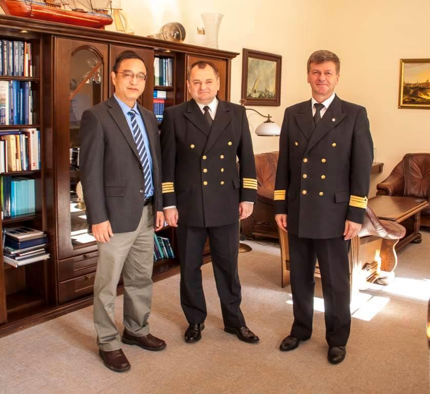 Akademia Morska w Szczecinie. Współpraca z Zhejiang Ocean University nabiera tempa