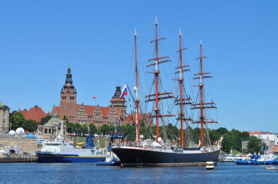 Pierwszy dzień Dni Morza Sail Szczecin 2018 za nami. Ale się działo
