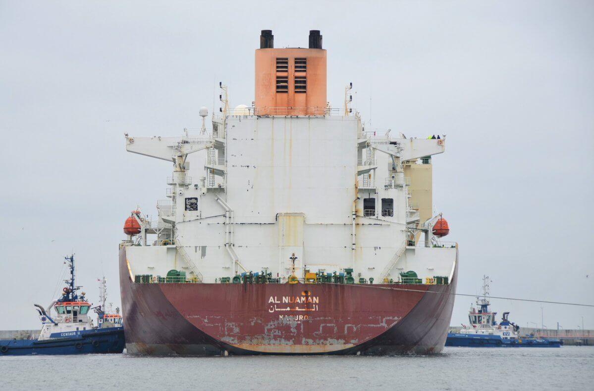 51. dostawa do Terminalu LNG w Świnoujściu