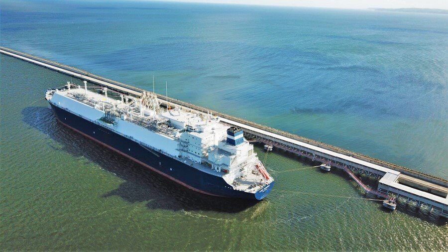 Świnoujście. Świnoujski Terminal LNG przyjął 94 dostawę gazu.