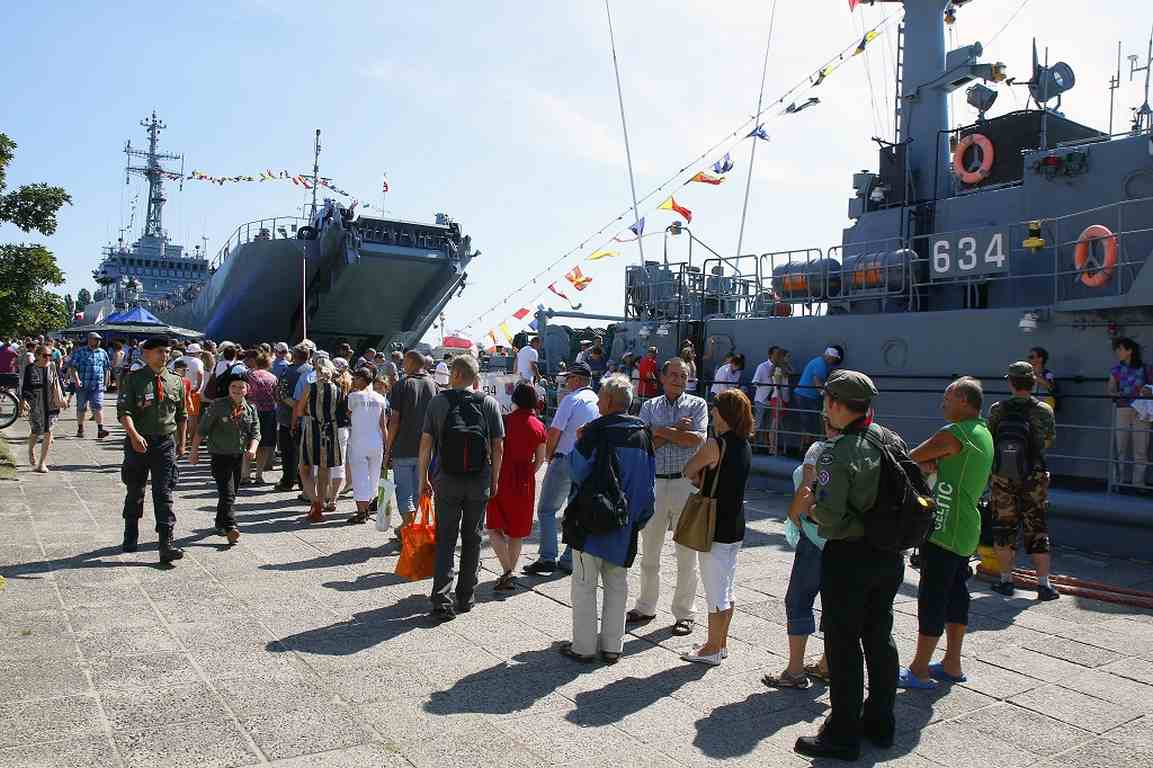 Świnoujście. Piknik marynarski z okazji 100. rocznicy utworzenia Marynarki Wojennej