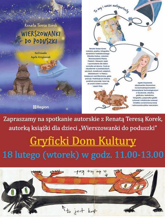 """""""BEZPIECZNE FERIE Z Gryfickim Domem Kultury"""" 18.02. (wtorek) godz. 11,00."""