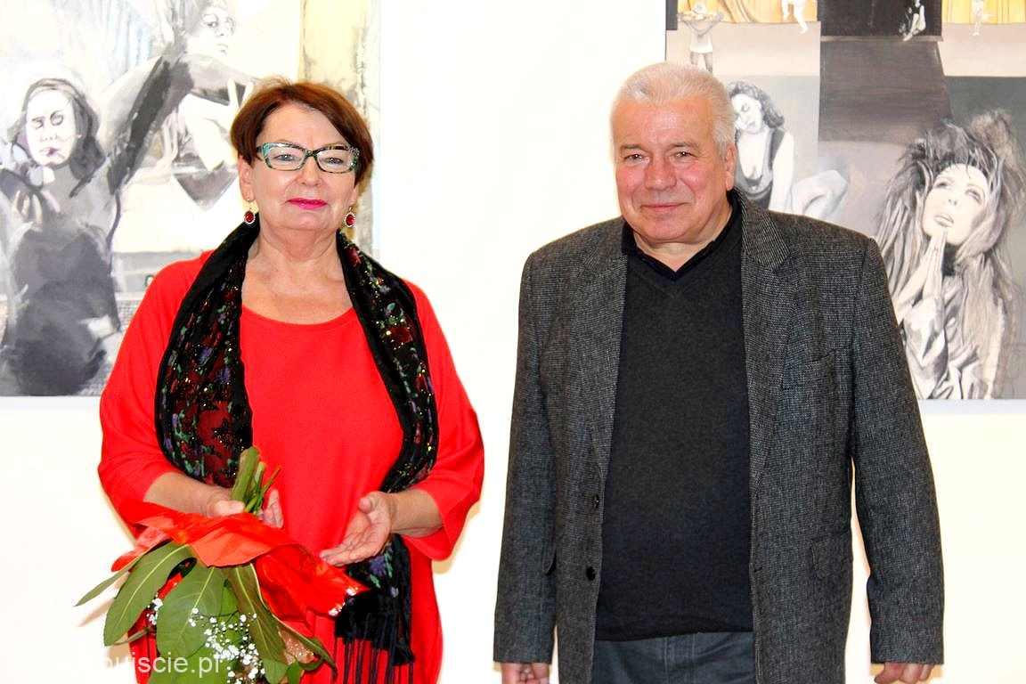 Wernisaż Jarosława Eysymonta w Galerii ART