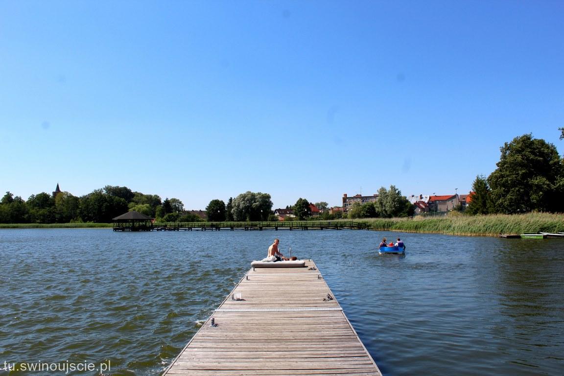 Golczewo zachodniopomorskie. Nad jeziorem Szczucze też można wypocząć.