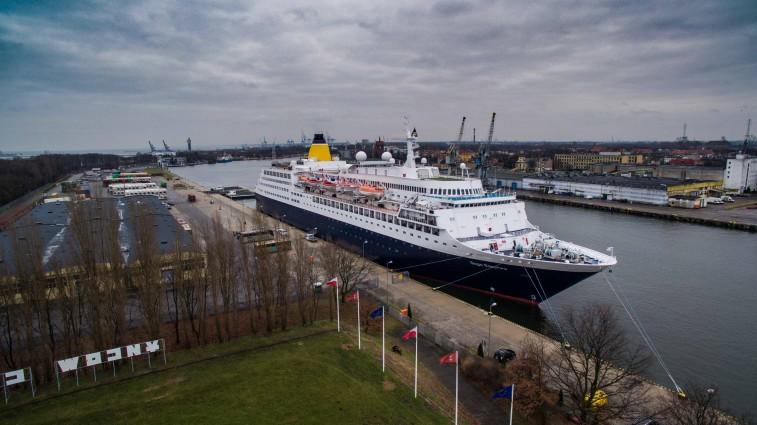 Ostatni w tym sezonie wycieczkowiec zawinął do Portu Gdańsk