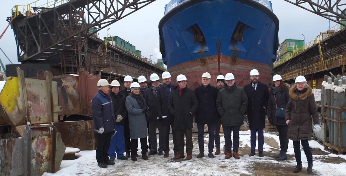 Stocznia ALKOR przebudowuje już 13. statek dla Islandczyków (foto, wideo)