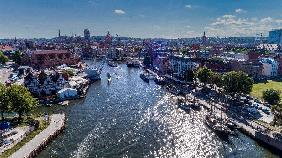 Niesamowite żaglowce w Gdańsku. Rozpoczął się zlot Baltic Sail (foto, wideo)