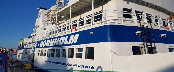 Będzie dodatkowe połączenie z Kołobrzegu na Bornholm