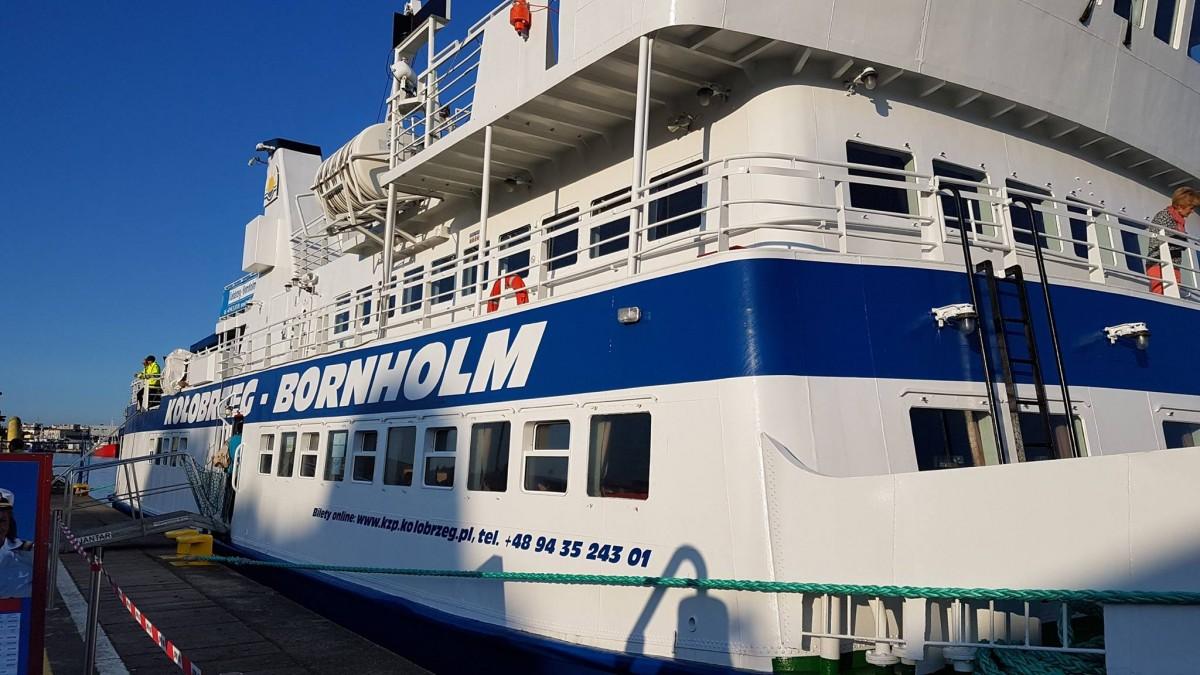 Będzie dodatkowe połączenie z Kołobrzegu na Bornholm?
