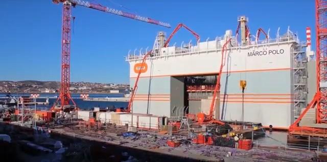 Zobacz, jak innowacyjny dok ze stoczni CRIST rozbudowuje Księstwo Monako (wideo)