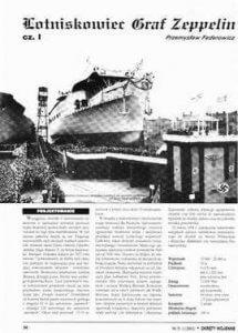 Graf Zepplin - historia niemieckiego lotniskowca