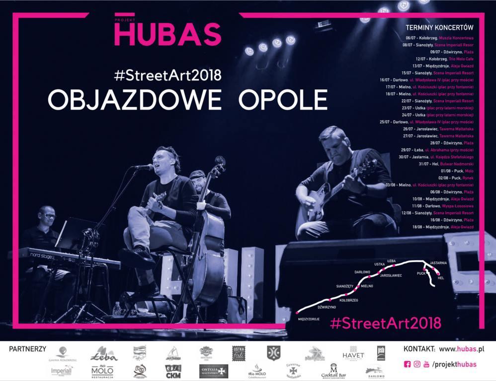 Projekt HUBAS rusza w trasę koncertową Objazdowe Opole