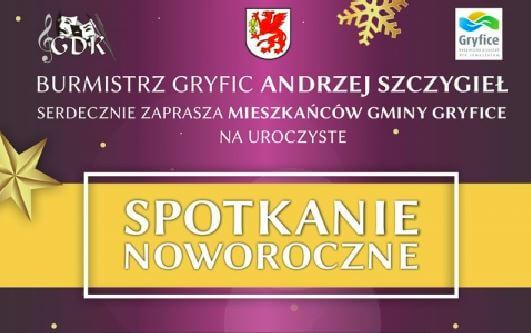 Burmistrz Gryfic Andrzej Szczygieł serdecznie zaprasza