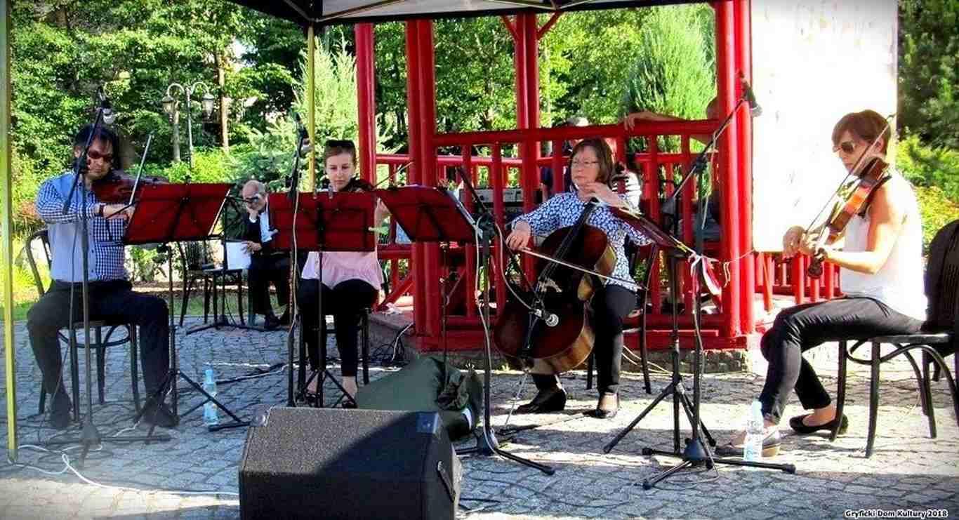 """""""Gryfickie Lato Muzyczne – niedzielne koncerty w Ogrodzie Japońskim"""""""
