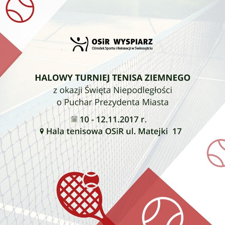 Halowy Turniej Tenisa Ziemnego