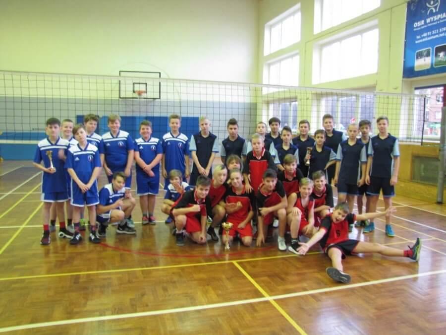 Mistrzostwa Miasta Świnoujście w piłce siatkowej chłopców w ramach  Igrzysk Dzieci