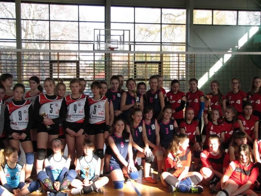Ćwierćfinał Wojewódzkich Igrzysk Dzieci (Region B) w piłce siatkowej w Świnoujściu