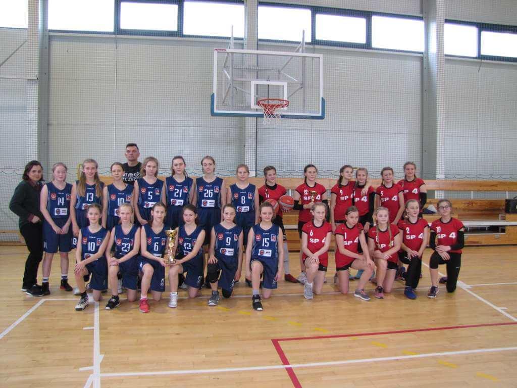 Świnoujście. Ćwierćfinał Wojewódzkich Igrzysk Dzieci ( Region B) w piłce koszykowej   – dziewcząt