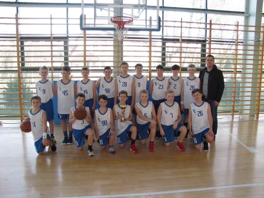 Świnoujście. Ćwierćfinał Wojewódzkich Igrzysk Dzieci (Region B) w piłce koszykowej – chłopców