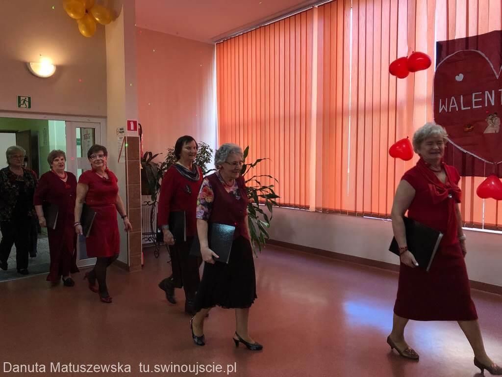 Świnoujście. Z okazji Święta Zakochanych w Domu Kultury Słowianin odbył się Bal Walentynkowy.