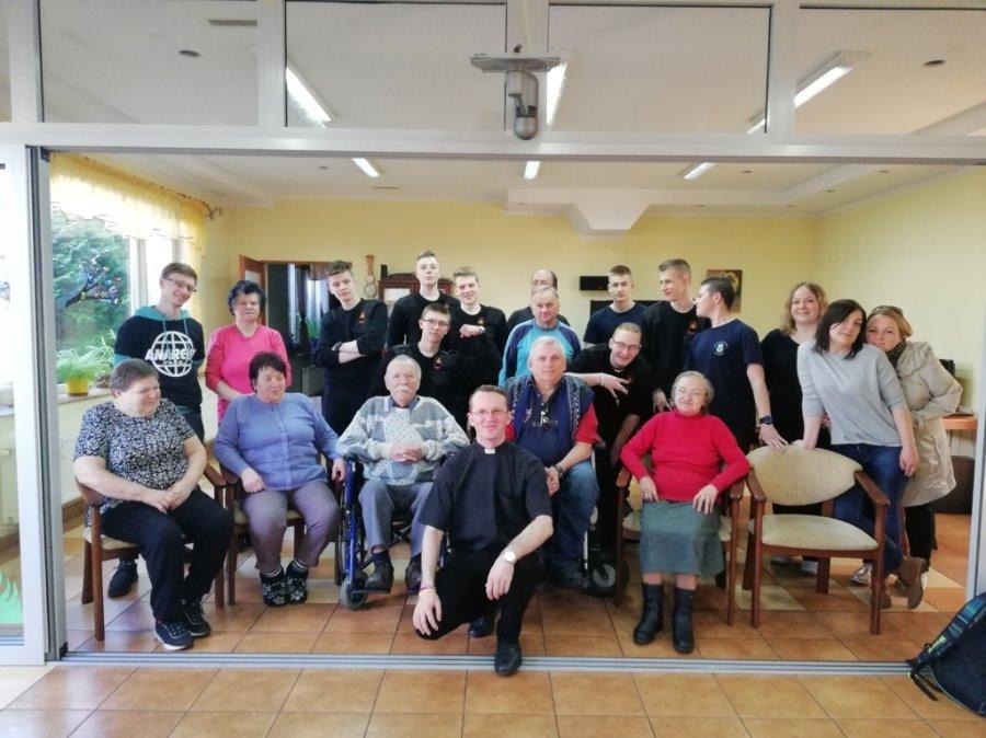 Świnoujście – wizyta w Domu Dziennego Pobytu Caritas na Warszowie