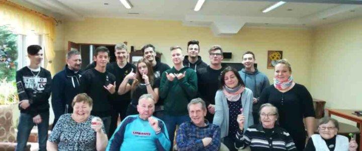 Świnoujście. Spotkanie wolontariuszy z cyklu: Młodzi seniorom