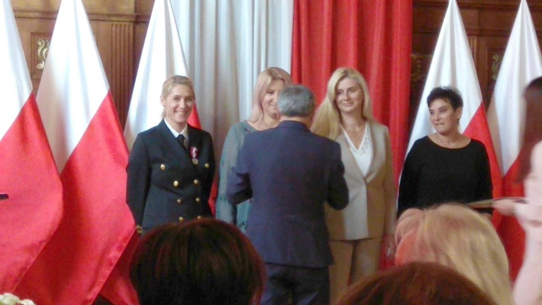 Świnoujście. Odznaczenia i medale w Zespole Szkół Morskich