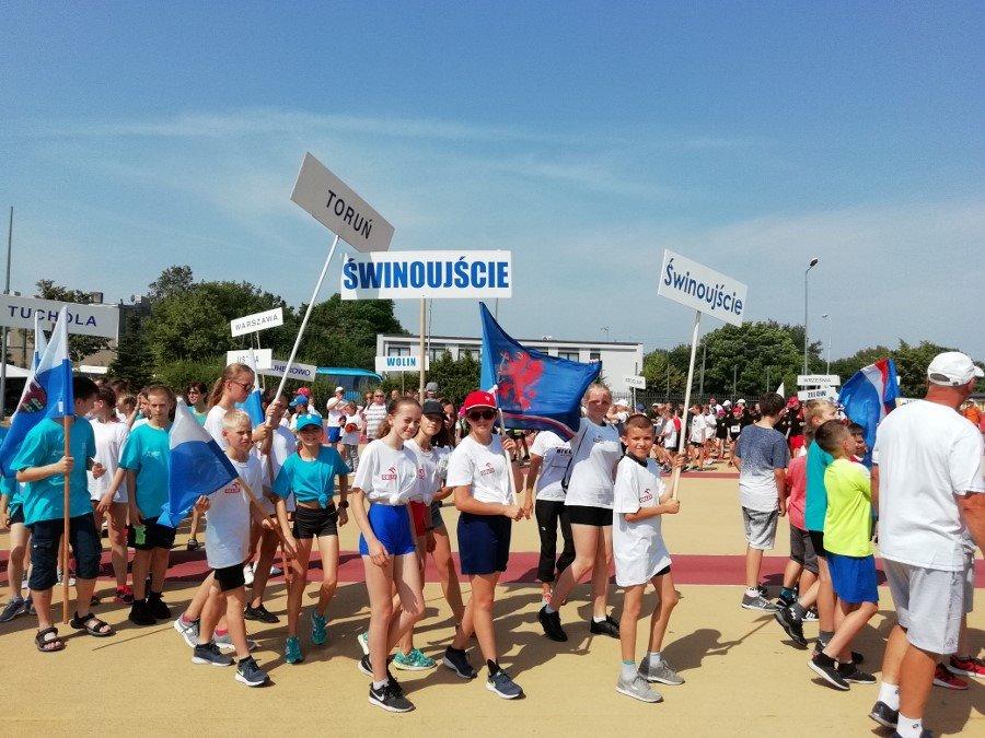 Świnoujście. Hanna Owczaruk i Franciszek Gralak wicemistrzami Ogólnopolskiego Finału Czwartków Lekkoatletycznych w Łodzi.