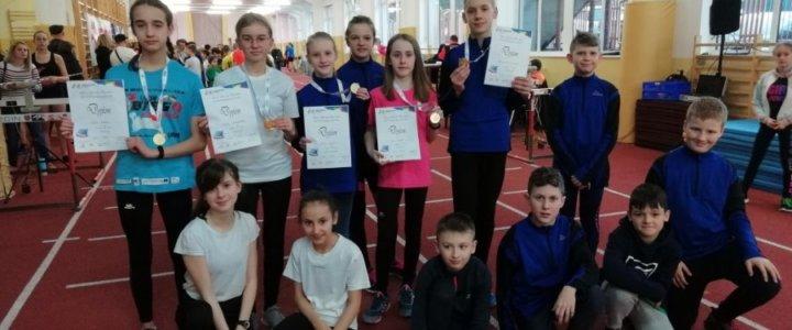 Świnoujście. Zdobyliśmy medale na Halowych Mistrzostwach Województwa w Szczecinie.