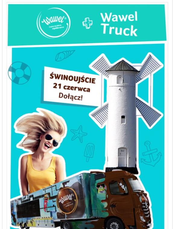 Wawel Truck w Świnoujściu już 21 czerwca z Latem na Maxxxa Zapraszamy!