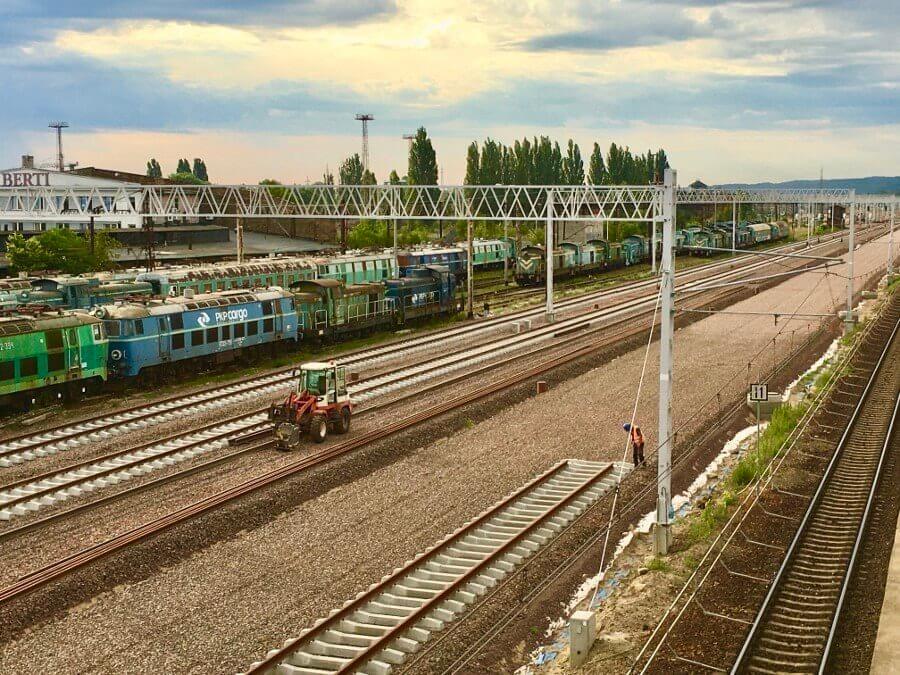 Modernizacja Dostępu Kolejowego do Portów w Szczecinie i Świnoujściu.