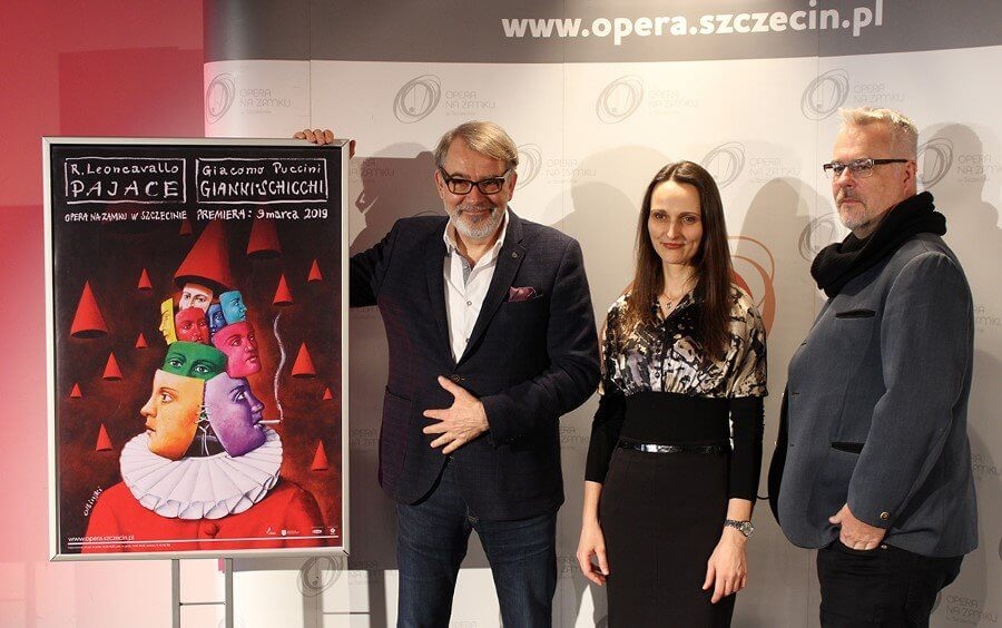 """SKRÓT KONF. PRASOWEJ – """"Pajace/Gianni Schicchi"""" – premiera w Operze na Zamku w Szczecinie"""