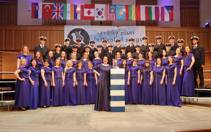Ogromny urodzinowy sukces Chóru Akademii Morskiej w Szczecinie