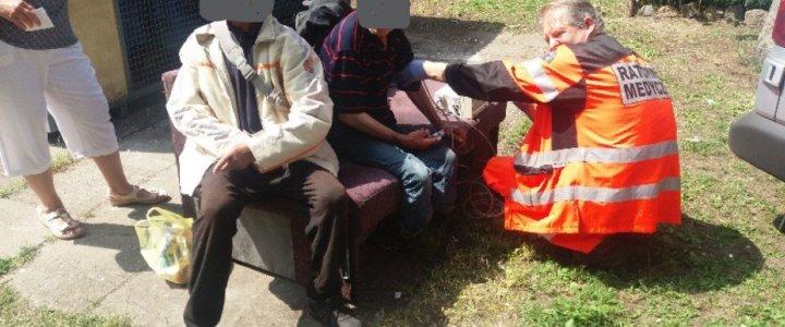 Pomogli okradzionemu bezdomnemu
