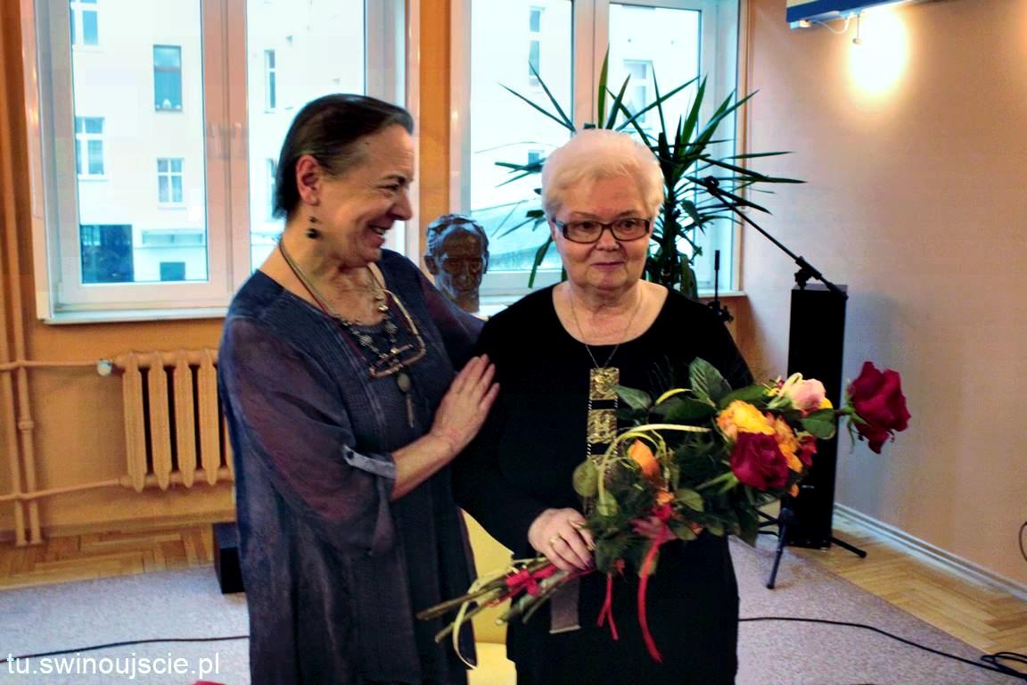 Świnoujście – spotkanie autorskie, promujące najnowszy tomik poezji Pani Janiny Miecznik