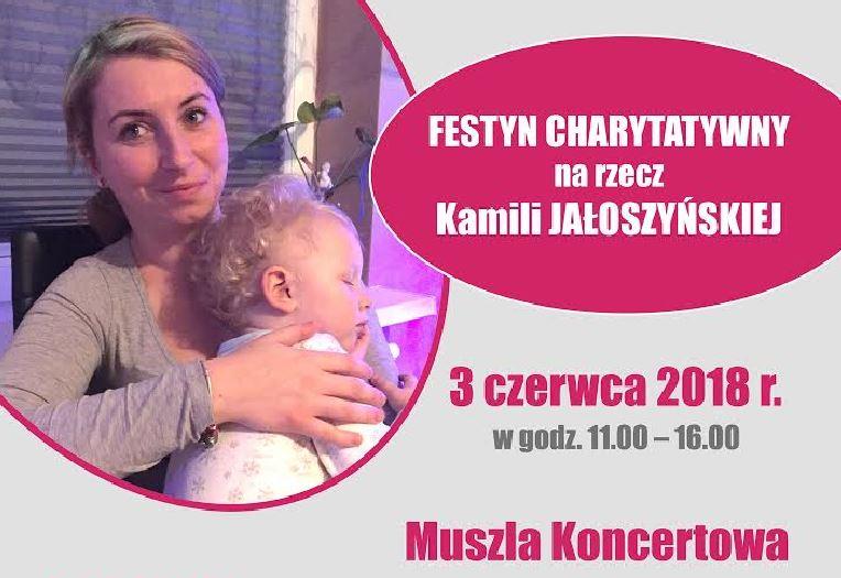 Świnoujście. Festyn charytatywny dla Kamili Jałoszyńskiej